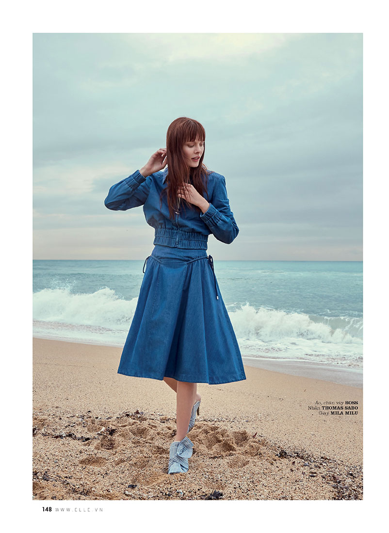 Sabi Khazgaleeva, ELLE, Elle Magazine, elle Vietnam, Photographer Olga Rubio Dalmau