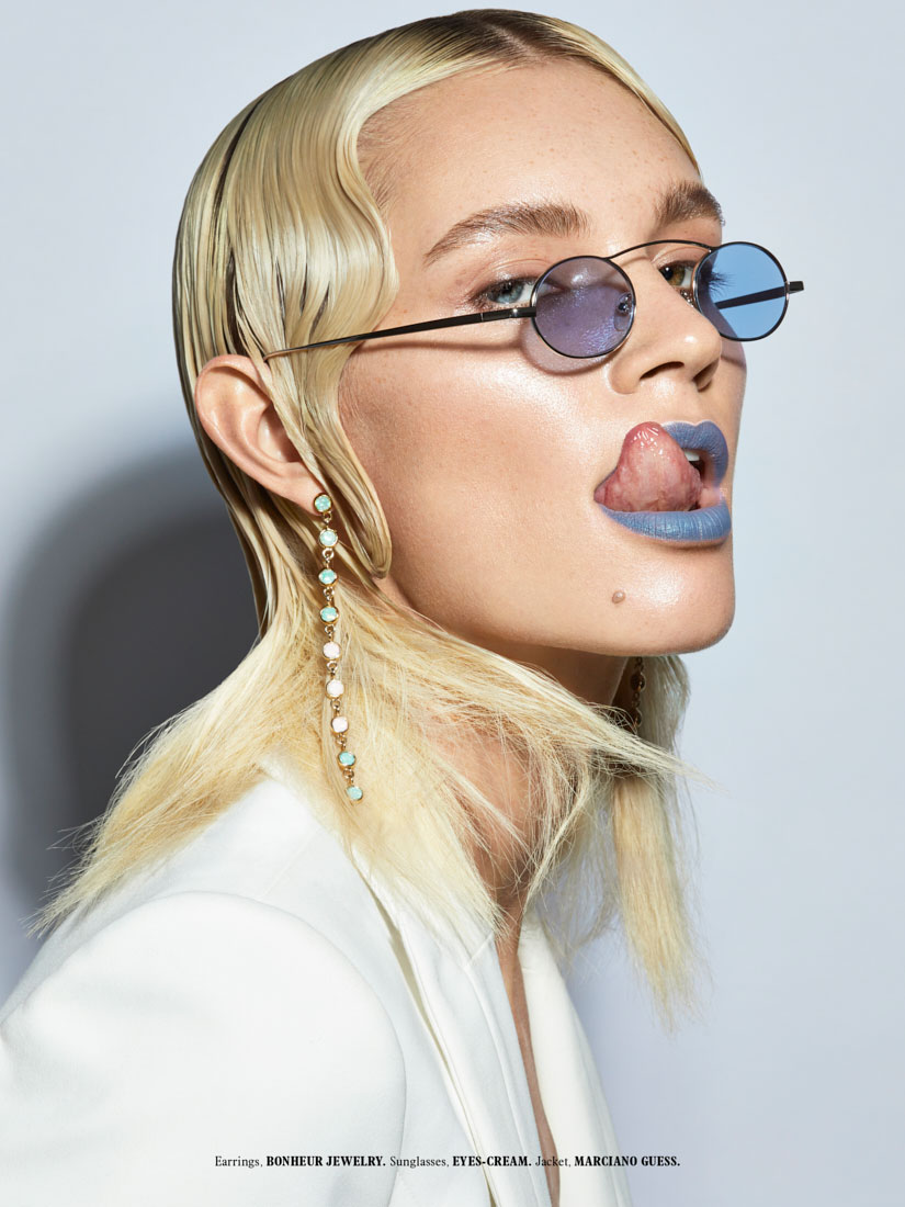 Beauty editorial for L
